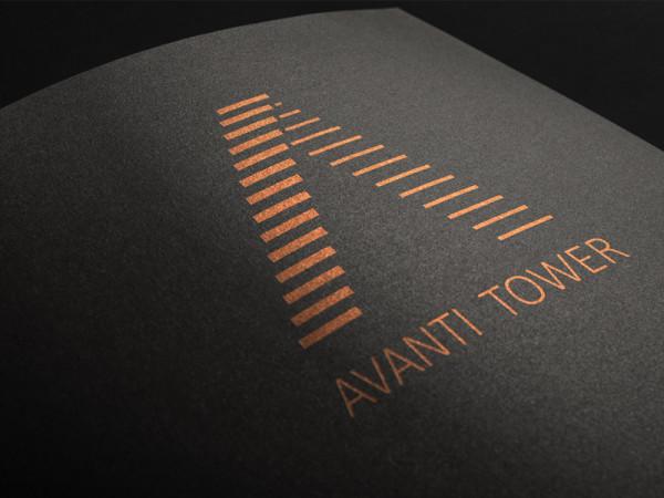 <span>AVANTI TOWER</span><i>→</i>